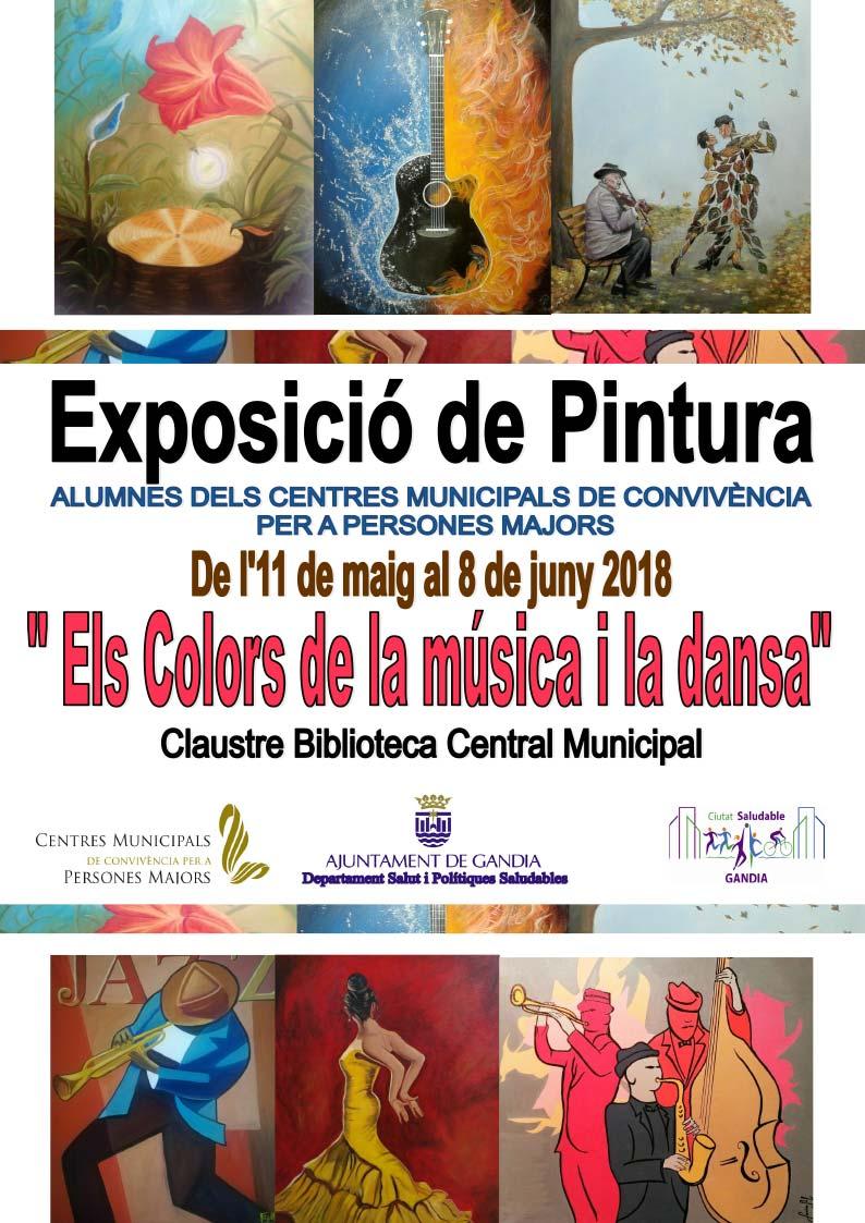 """Exposició """"Els Colors de la Música i Dansa"""""""