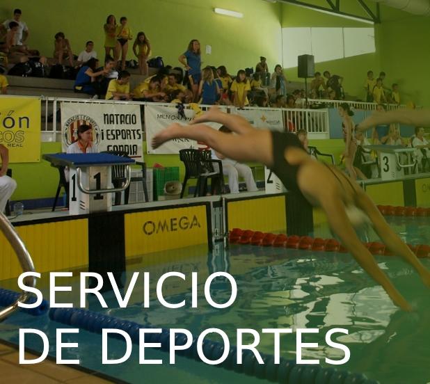 Servicio de deportes